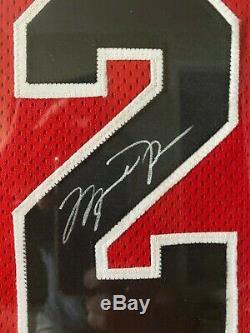 Michael Jordan Uda Signe Red Bulls 1997-1998 Nike 50 +4 Maillot #lastdance