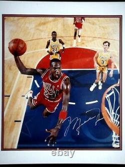 Michael Jordan Uda Upper Deck Signé 16x20 Photo Autograph Bulls Auto