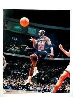 Michael Jordan Uda Upper Deck Signé 16x20 Photo Autographe 237/300 Bulls