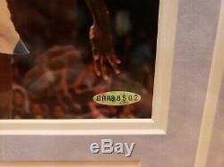 Michael Jordan Upper Deck Uda Autographié Signé Unc Tarheels Photo 8x10 Le # 52