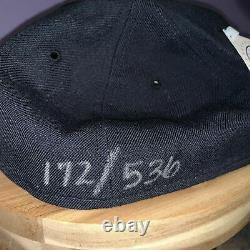 Mickey Mantle Signé Autograph New York Yankees Hat Uda Holo & Coa Limited 536