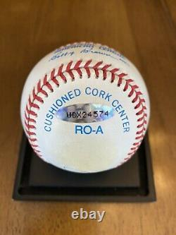 Mickey Mantle Signé Autographié American League Baseball Upper Deck Uda Coa