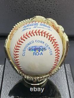 Mickey Mantle Signé Baseball Uda Autographié Deck Supérieur Authentifié
