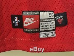 Nike 1998 Nba Finals Michael Jordan Bulls Pro Jersey Cut Autographe Uda