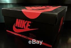 Original Signé 1985 Nike Air Michael Jordan 1 High Rookie Chaussures Uda Autograph I
