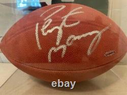 Peyton Manning Autographe Signé Wilson Football Uda Superbowl Champ Hof Colts