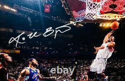 Rare! Bryant Uda Signé Kobe 16x 20 All Star Game Photo Encadrée # 5 50
