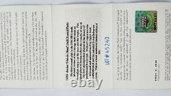 Rare Michael Jordan Mid-air Slam Limited Edition 16x20 Autographié Uda/coa