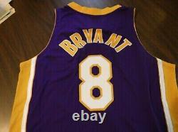 Rare Trouver! Kobe Bryant Auto Jersey Le 24/108 #24! Uda! & A Pen Cam