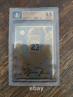 Rare Upper Deck Uda Metal Limited Edition Michael Jordan Gold Signature #11/1000