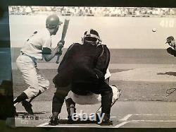 Sandy Koufax Signé La Dodgers Encadrée Photo Panoramique Le132 Uda Baj85579