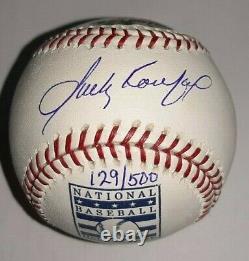 Sandy Koufax Signé Uda Baseball Upper Deck Assermentée Autographié 129/500 #d