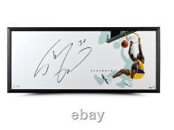 Shaquille O'neal Signé Autographié 20x46 Encadré Photo The Show Lakers Uda