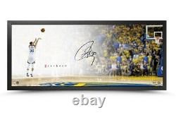 Stephen Curry Signé Autographed 20x46 Framed Photo The Show Lay-up Warriors Uda