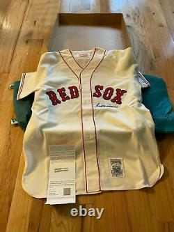 Ted Williams Uda Upper Deck Signé Autograph Boston Red Sox Jersey Rare Withbox