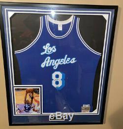 Throwback Auto Upper Deck Kobe Bryant Lakers Retro Jeu Jersey Autograph Uda Coa