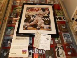 Uda Ken Griffey Jr. Autographed Sports Illustré Repro. Cover-hall Of Famer