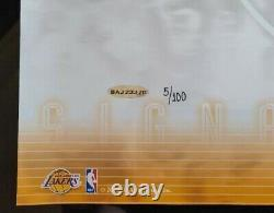Uda Kobe Bryant Encadré16x20 Signé Lakers Autographe 5/100 Rare Photo Upperdeck