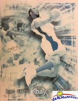 Uda Kobe Bryant Massive 32x40 Toile Signée # 19/50 3 Fois Champion Nba Auto Rare