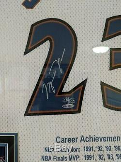 Uda Michael Jordan Dédicacées Commémorative Washington Wizards Jersey Limitée