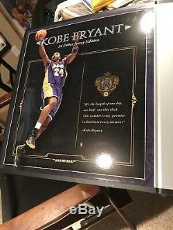Uda Upper Deck Autographiés Kobe Bryant Des Lakers Violet Archives Jersey # 13/124