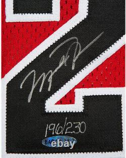 Ultra Rare 1999 Michael Jordan A Signé Chicago Bulls Jersey De Retraite Uda