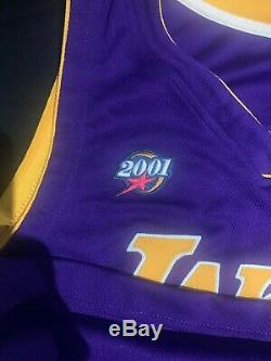 Upper Deck Assermentée Uda Kobe Bryant Autographié 2001 All Star Jersey / 108