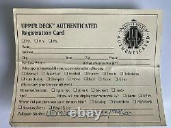 Upper Deck Mickey Mantle / Neil Leifer Signé Limited Edition Uda Photo Encadrée