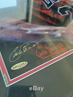 Upper Deck Uda Michael Jordan Signé Autograph 14x20 Chicago Bulls Last Dance Sp