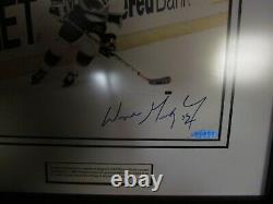 Upper Deck Uda Wayne Gretzky Signé Framed Photo